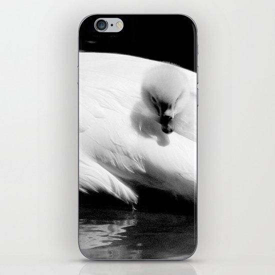 baby swan iPhone & iPod Skin