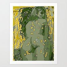 Desnudo Art Print