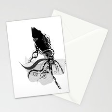 Lacy Fish Stationery Cards