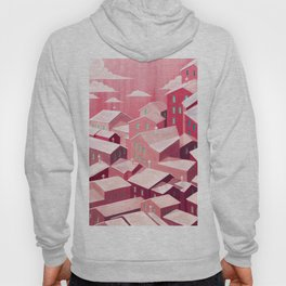 Pink city Hoody