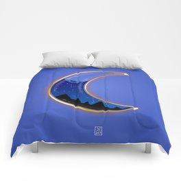 Liquid luna Comforters