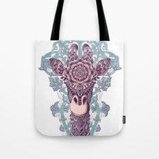 Giraffe (Color Version) Tote Bag