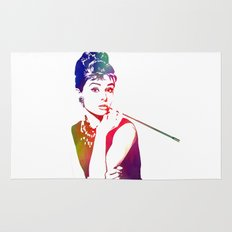 Audrey Hepburn Breakfast at Tiffany's Rug