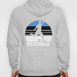 Estonia Soccer Football EST Hoody