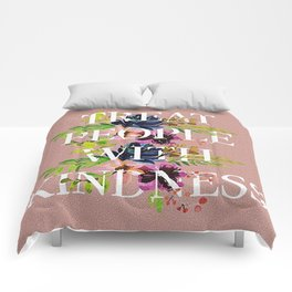 Treat People With Kindness graphic artwork / Harry Styles Comforters