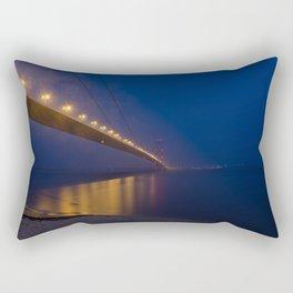 Humber bridge twilight Rectangular Pillow