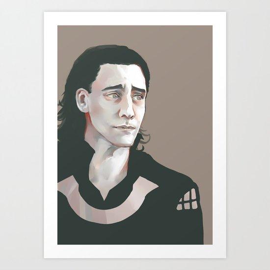 Loki (Tom Hiddleston) Art Print