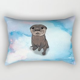 Otter Cuteness Rectangular Pillow