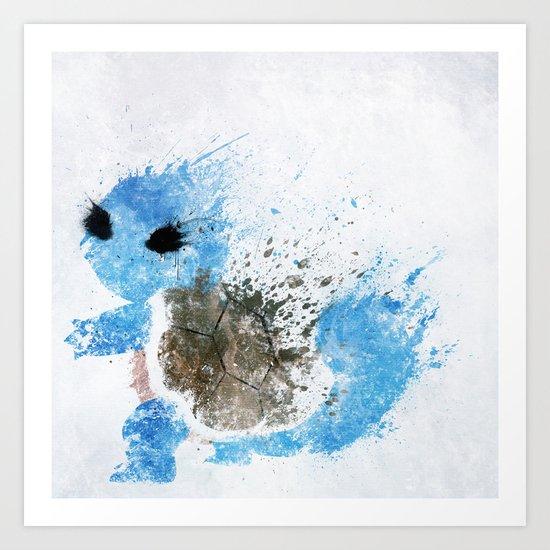 #007 Art Print
