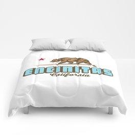 Encinitas - California. Comforters