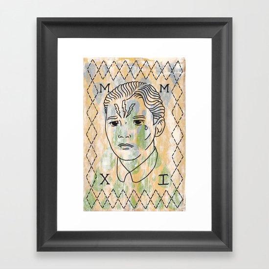 Hans Framed Art Print