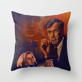 I Want To Believe - Cigarette Smoking Man - Trust No One - The Truth Is Out There Throw Pillow