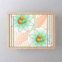 Mid-Century Modern Art Atomic 1.0 Framed Mini Art Print