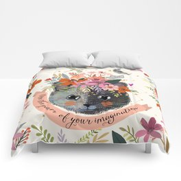 Use the power of your imagination Comforters
