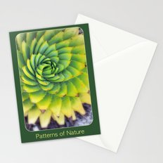 Patterns of Nature - succulent I Stationery Cards