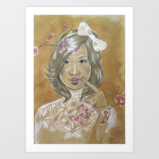 Kawaii Culture Art Print