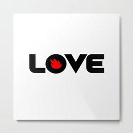 Love Audioslave Metal Print