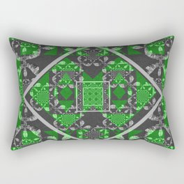 Uncover Pre-Existing Beauty Geometric Mandala Rectangular Pillow