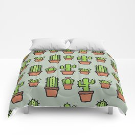 Cactus Collection - Sage Comforters