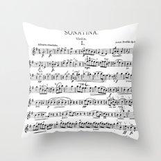 Sonatina Throw Pillow