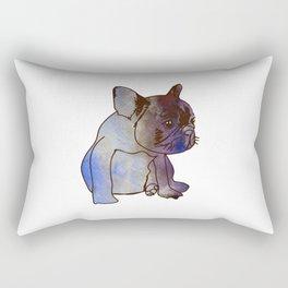 French Bulldog Puppy Cute baby Dog Rectangular Pillow