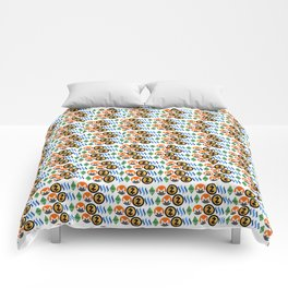 Crypto Pattern Comforters