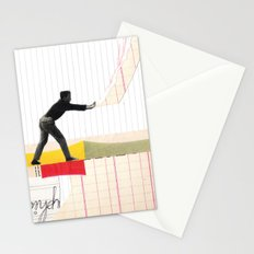 Tears apart Stationery Cards