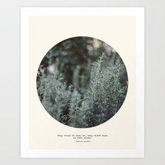 Bury Us 2 Art Print