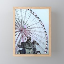 Paris Street Style No. 5 Framed Mini Art Print