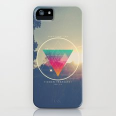 Seek Them Like Hidden Treasure - Proverbs 2:4 iPhone (5, 5s) Slim Case