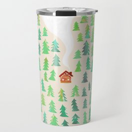Alone in the woods Travel Mug