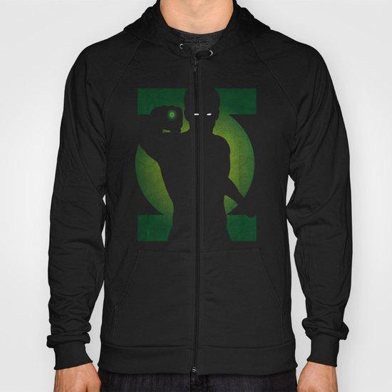 SuperHeroes Shadows : Green Lantern Hoody