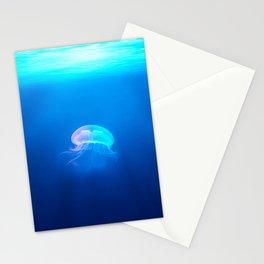 Lone Jellyfish Stationery Cards