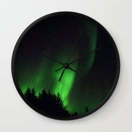 The Northern Lights 04 Wall Clock
