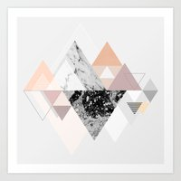 Art Prints featuring Graphic 110 by Mareike Böhmer
