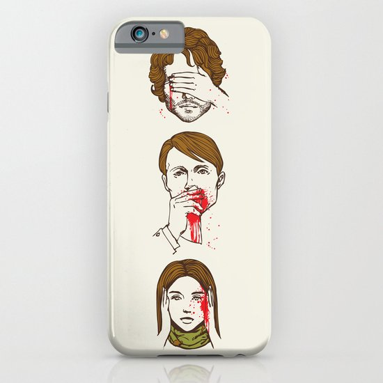 No Evil Hannibal iPhone & iPod Case