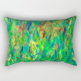 dont' cut the grass Rectangular Pillow