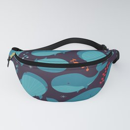 Whales 001 Fanny Pack