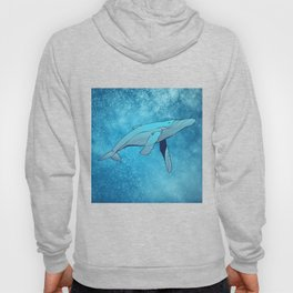 Whale in Space Hoody