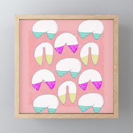 It's A Fortune Cookie Cup Cake Kind of Love Framed Mini Art Print