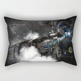 Steam Train Rectangular Pillow
