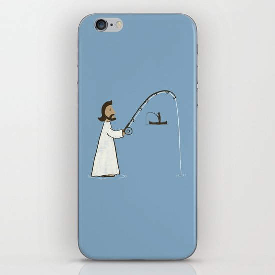 Jesus Fish iPhone & iPod Skin