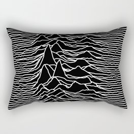 Joy Division - Unknown Pleasures Rectangular Pillow
