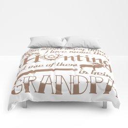 Hunting Grandpa Comforters