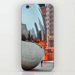Chicago Bean - Big City Lights iPhone Skin