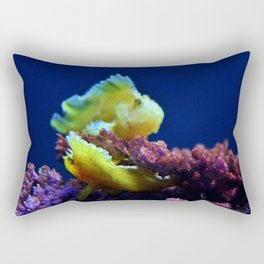 Pair Of Leaf Scorpionfish Rectangular Pillow