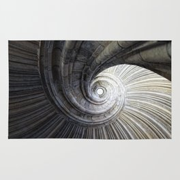 Sand stone spiral staircase Rug