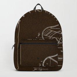 Grand Piano Patent - Mahogany Backpack