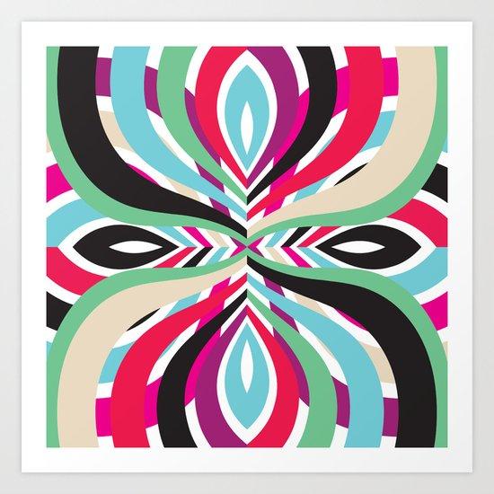 Mix #105 Art Print