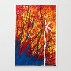 Petal Drop Canvas Print